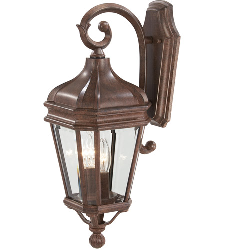The Great Outdoors by Minka Harrison 2 Light Outdoor Wall in Vintage Rust 8691-61 photo
