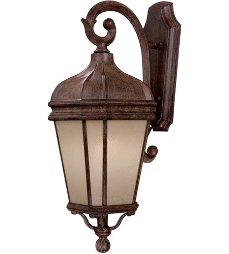 Minka-Lavery 8692-1-61-PL Harrison 1 Light 28 inch Vintage Rust Outdoor Wall Mount photo
