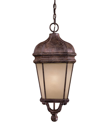 Minka-Lavery 8694-1-61-PL Harrison 1 Light 12 inch Vintage Rust Outdoor Hanging in GU24 photo
