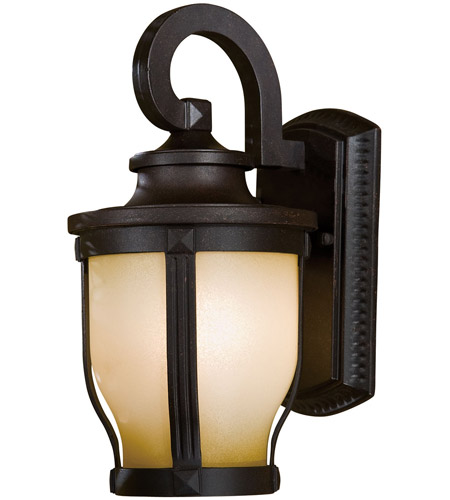 The Great Outdoors by Minka Merrimack 1 Light Outdoor Wall in Corona Bronze 8761-166-PL photo