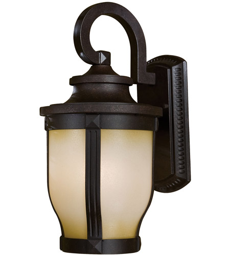 Minka-Lavery 8762-166-PL Merrimack 1 Light 16 inch Corona Bronze Outdoor Wall Mount photo