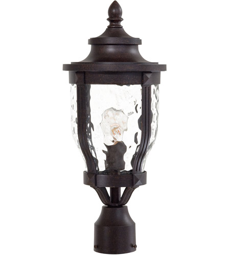 The Great Outdoors by Minka Merrimack 1 Light Post Light in Corona Bronze 8766-166 photo