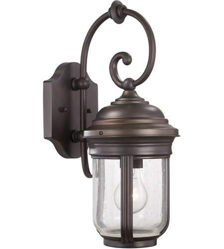 The Great Outdoors by Minka Amherst 1 Light Outdoor Wall in Roman Bronze 8817-57 photo