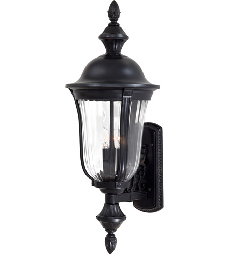 The Great Outdoors by Minka Morgan Park 3 Light Outdoor Wall in Heritage 8842-94 photo