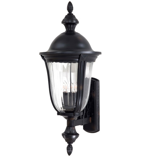 Minka-Lavery 8843-94 Morgan Park 5 Light 33 inch Heritage Outdoor Wall photo