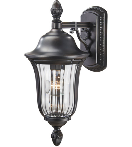 Minka-Lavery 8847-94 Morgan Park 1 Light 17 inch Heritage Outdoor Wall Mount Lantern  photo