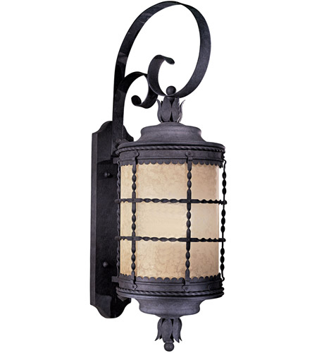 Minka-Lavery 8882-A39-PL Mallorca 1 Light 34 inch Spanish Iron Outdoor Wall Mount photo