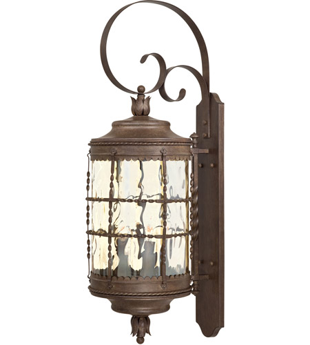 Minka-Lavery 8883-A61 Mallorca 5 Light 41 inch Vintage Rust Outdoor Wall Mount Lantern photo