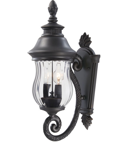 Minka-Lavery 8900-94 Newport 2 Light 20 inch Heritage Outdoor Wall Mount, Great Outdoors photo
