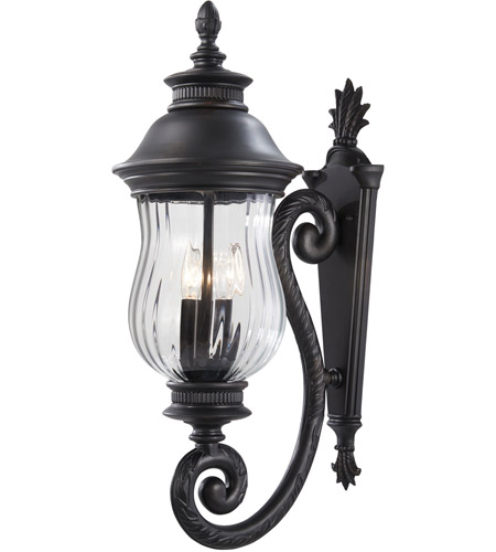 Minka-Lavery 8901-94 Newport 3 Light 28 inch Heritage Outdoor Wall Mount Lantern photo