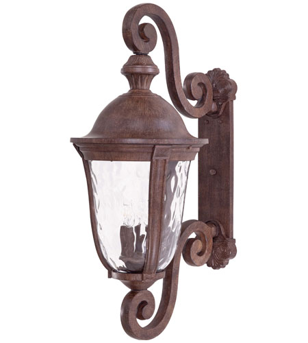 Minka-Lavery 8993-61 Ardmore 5 Light 39 inch Vintage Rust Outdoor Wall in Incandescent photo