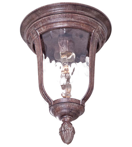 The Great Outdoors by Minka Ardmore 1 Light Flushmount in Vintage Rust 8999-61 photo