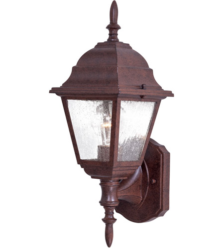 The Great Outdoors by Minka Bay Hill 1 Light Outdoor Wall in Antique Bronze 9060-91 photo
