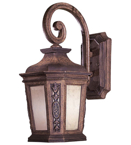 The Great Outdoors by Minka Buckingham 1 Light Outdoor Wall in Prussian Gold 9088-407-PL photo