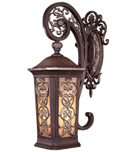 Minka-Lavery Jessica McClintock Outdoor 1 Light Outdoor Wall in Ravello Bronze w/Gold Highlights 9111-198B-PL photo