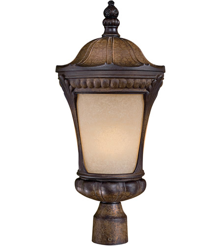 The Great Outdoors by Minka Kent Place 1 Light Post Light in Prussian Gold 9146-407-PL photo