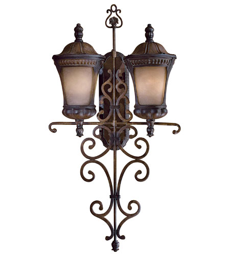 Minka-Lavery 9148-407-PL Kent Place 2 Light 42 inch Prussian Gold Outdoor Wall photo