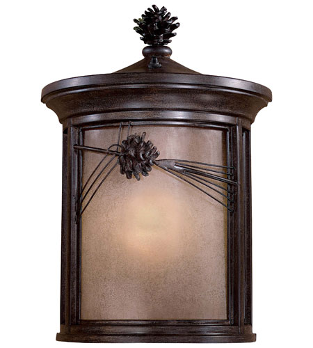 The Great Outdoors by Minka Abbey Lane 1 Light Outdoor Wall in Iron Oxide 9150-357-PL photo