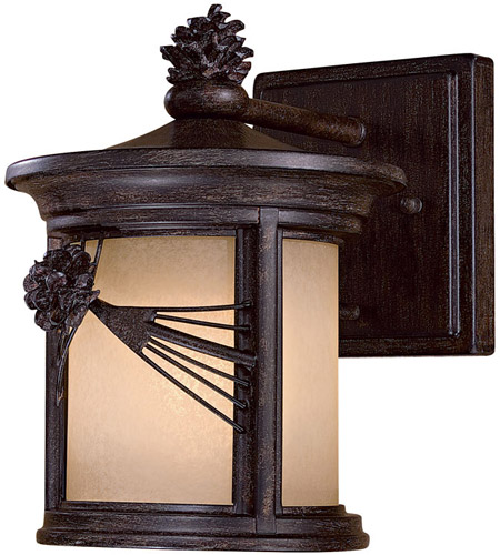 Minka-Lavery 9151-A357-PL Abbey Lane 1 Light 10 inch Iron Oxide Outdoor Wall Mount photo