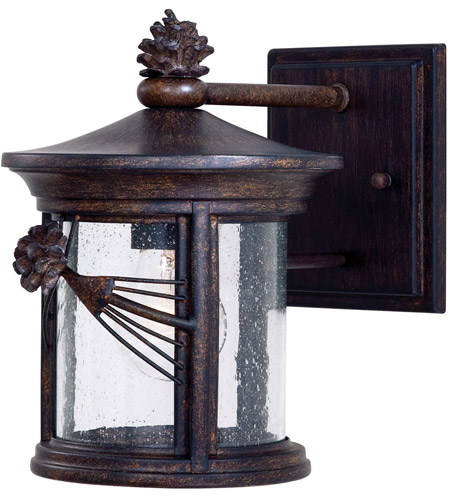 Minka-Lavery 9151-A357 Abbey Lane 1 Light 10 inch Iron Oxide Outdoor Wall Mount Lantern photo