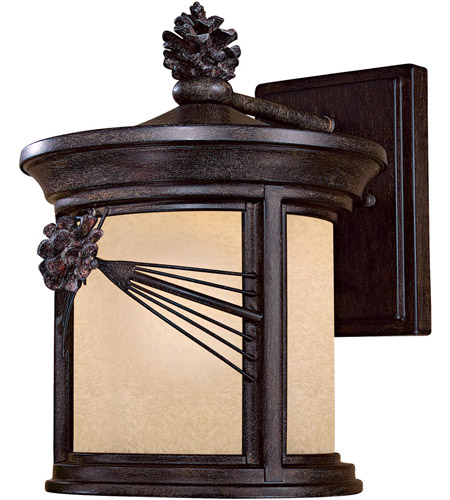 Minka-Lavery 9152-A357-PL Abbey Lane 1 Light 13 inch Iron Oxide Outdoor Wall Mount photo