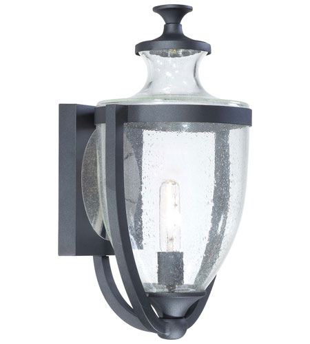 Minka-Lavery 9163-66 Park Terrace 1 Light 20 inch Black Outdoor Wall Lantern photo