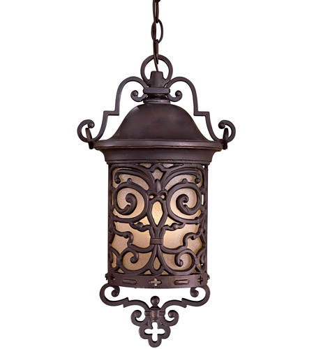 The Great Outdoors by Minka Chelesa Road 1 Light Hanging in Chelesa Bronze 9194-189-PL photo