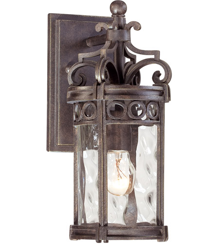 Minka-Lavery 9221-256 Regal Bay 1 Light 13 inch Regal Bay Patina Outdoor Wall Lantern photo