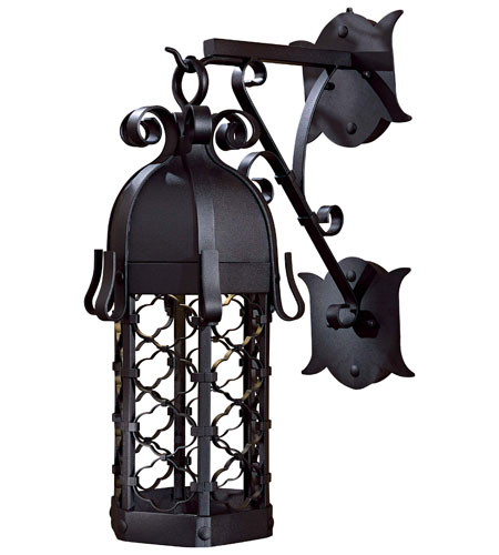 The Great Outdoors by Minka Montalbo 1 Light Outdoor Wall in Black 9242-1-66-PL photo