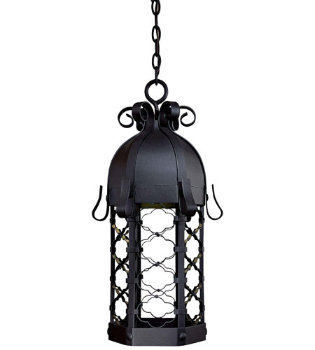 The Great Outdoors by Minka Montalbo 1 Light Hanging in Black 9244-1-66-PL photo