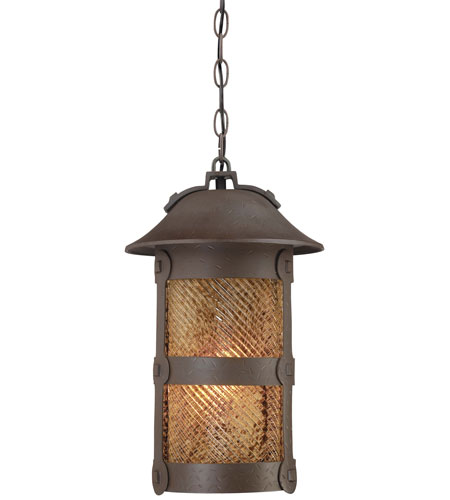 The Great Outdoors by Minka Lander Heights 1 Light Outdoor Lighting in Forged Iron 9254-A199-PL photo
