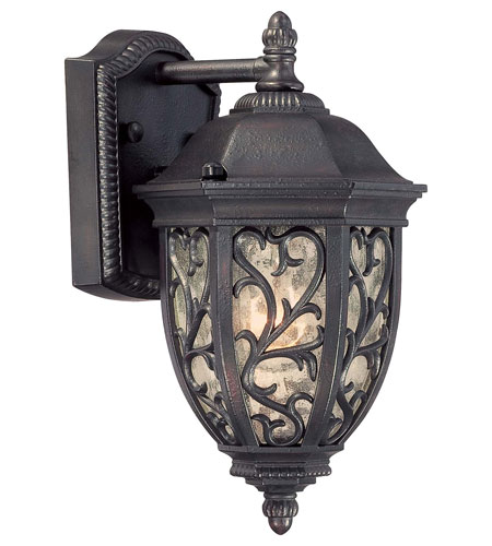 The Great Outdoors by Minka Allendale Park 1 Light Outdoor Pocket Lantern in Allendale Bronze 9260-262 photo
