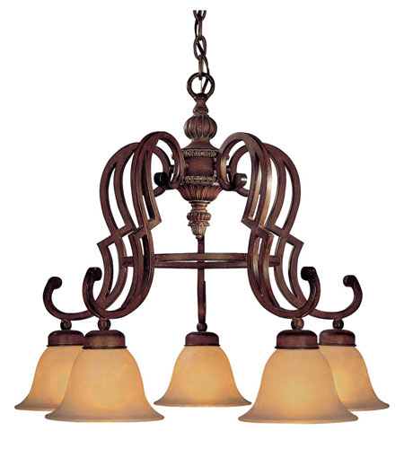 Minka-Lavery Belcaro 5 Light Chandelier in Belcaro Walnut 945-126 photo