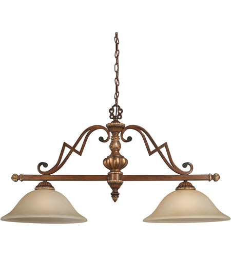 Minka-Lavery Belcaro 2 Light Island Light in Belcaro Walnut 952-126 photo