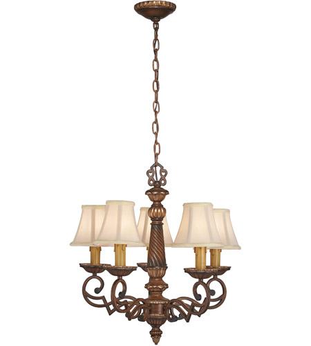 Minka Lavery 955 126 Belcaro 5 Light 22 Inch Walnut Chandelier Ceiling