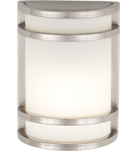 Minka-Lavery 9801-144 Bay View 1 Light 10 inch Brushed Stainless Steel Outdoor Pocket Lantern photo