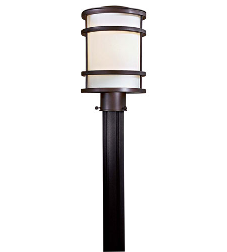 Minka-Lavery 9806-143 Bay View 1 Light 13 inch Oil Rubbed Bronze Outdoor Post Mount Lantern photo