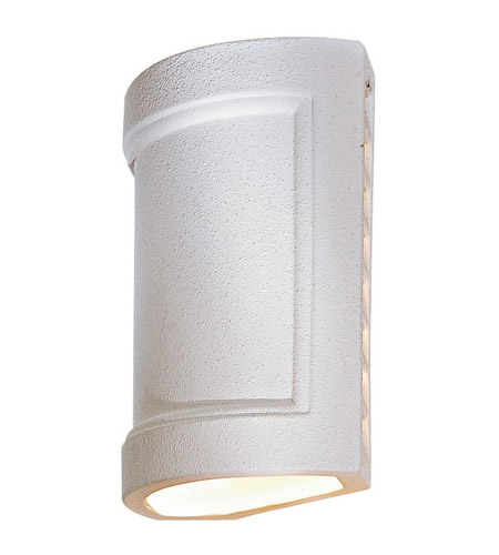 The Great Outdoors by Minka Ceramic 1 Light Sconce in White 9838 photo