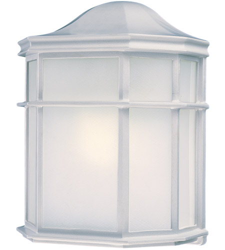 Minka-Lavery 9920-44-PL Signature 1 Light 9 inch White Outdoor Pocket Lantern photo