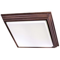 Minka-Lavery Signature 4 Light Fluorescent Flushmount in Belcaro Walnut 1000-126-PL