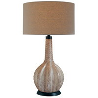 Signature 30 inch 150 watt Gray Table Lamp Portable Light