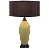 Minka-Lavery 10166-0 Signature 29 inch 150 watt Green Table Lamp Portable Light Ambience