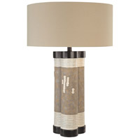 Signature 30 inch 100 watt Multi-Colored Table Lamp Portable Light