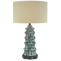 Signature 26 inch 150 watt Multi-Colored Table Lamp Portable Light