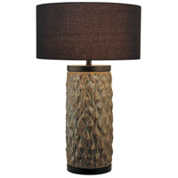 Signature 31 inch 150 watt Green Table Lamp Portable Light, Ambience