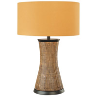 Signature 28 inch 150 watt Brown Table Lamp Portable Light