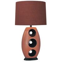 Minka-Lavery 10191-0 Signature 150 watt Black Table Lamp Portable Light Ambience