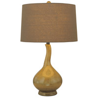 Minka-Lavery Signature 1 Light Table Lamp in Chartreuse 10194-0