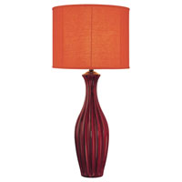 Minka-Lavery Signature 1 Light Table Lamp in Orange 10303-0