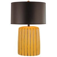 Minka-Lavery 10309-0 Signature 25 inch 150 watt Yellow Table Lamp Portable Light Ambience